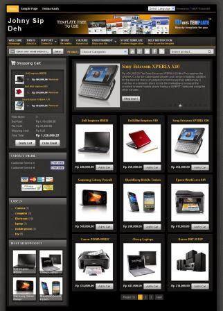 Blog Toko Online dengan Invoice Mail