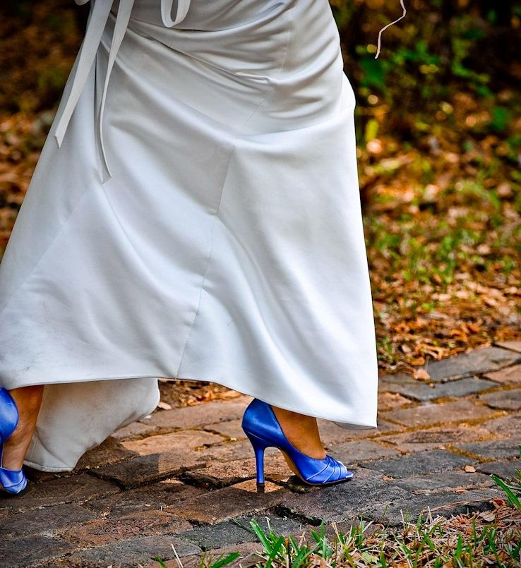 Mis Vestidos de Novia: Novias con color: zapatos de novia de color