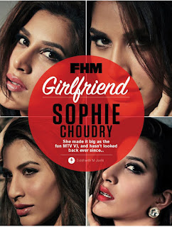 Sophie Choudhary spicy pics for FHM Magazine