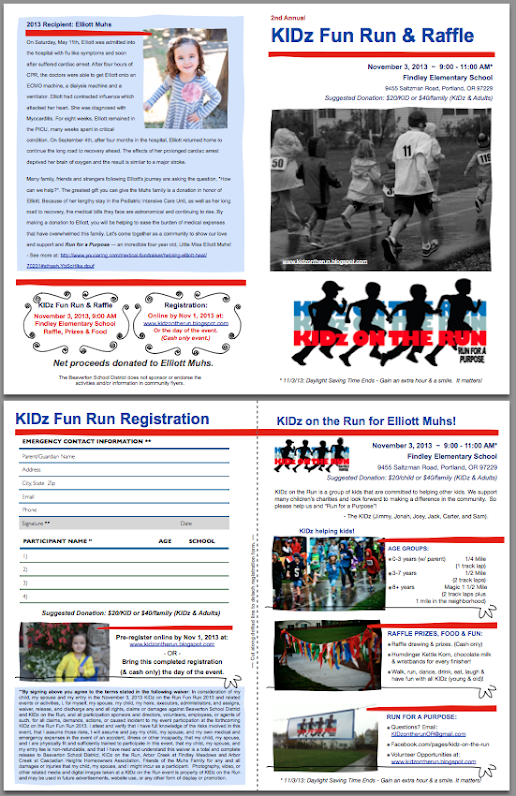 KIDz Fun Run & Raffle 2013