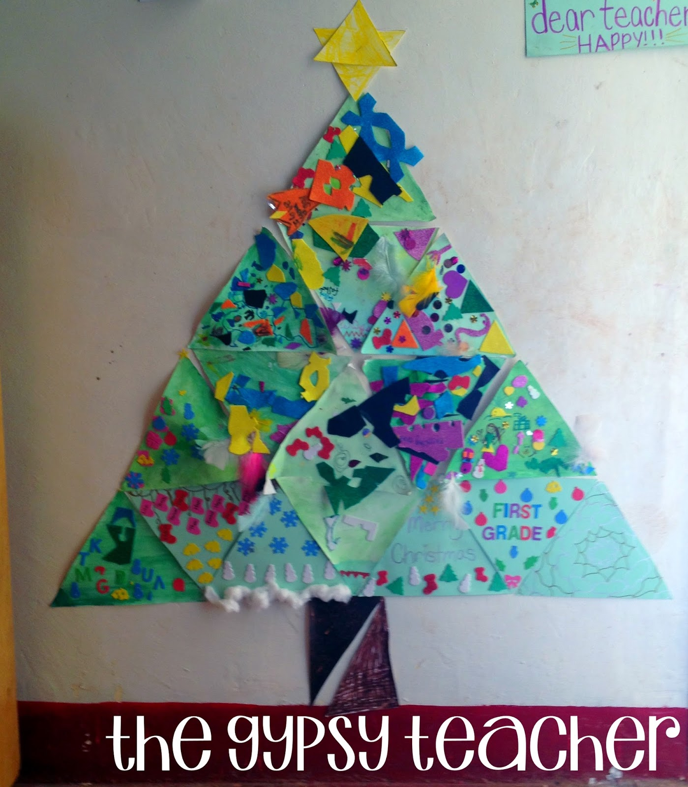 Christmas in my First Grade Classroom - The Gypsy Teacher