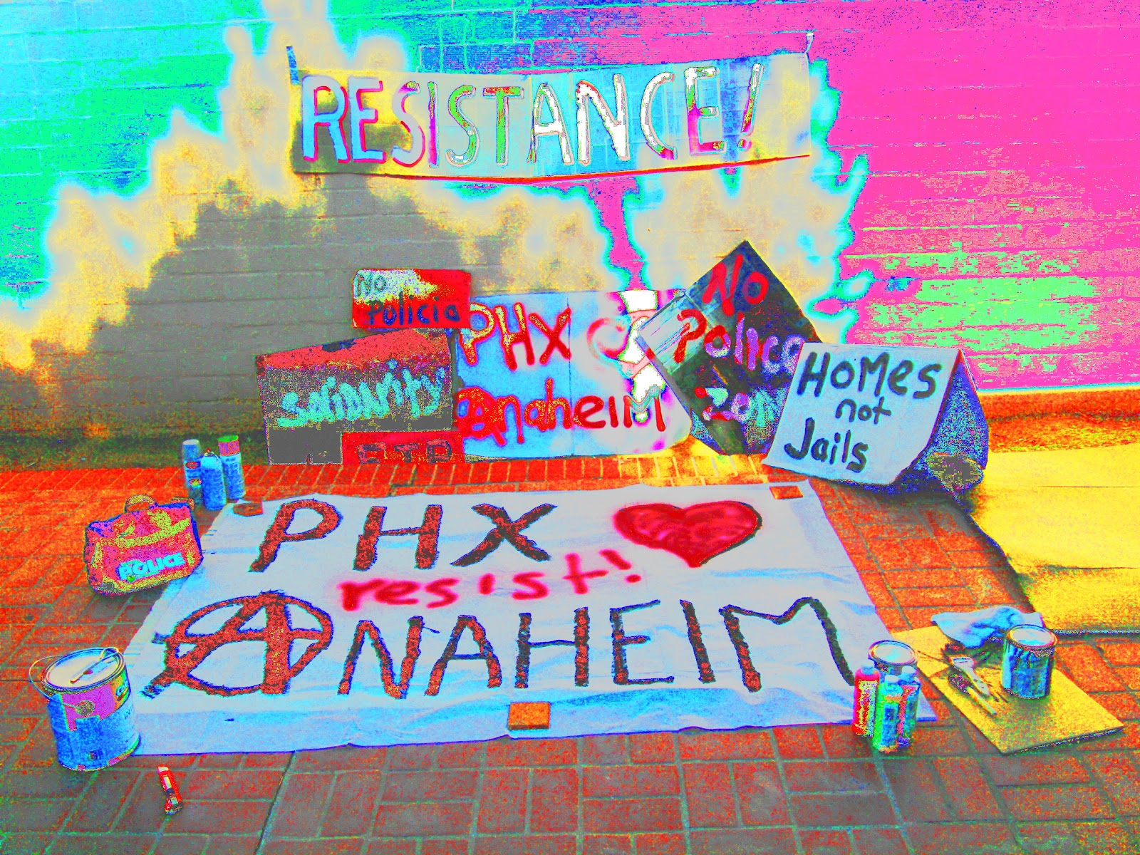 the retired diary of a prison abolitionist  phoenix hearts anaheim resist the police state
