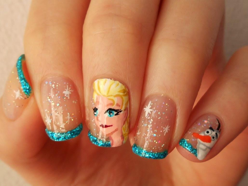 Yoko Nail Art Cupcake : VP Nails: Liberee, Delivree : Le Nail Art Frozen pour Yoko....