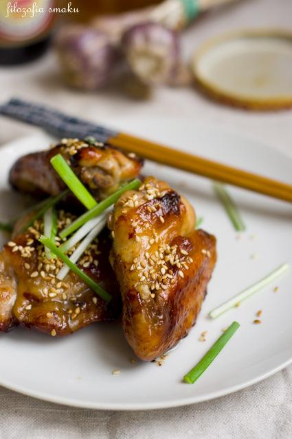 Pieczony kurczak z miodem przepis