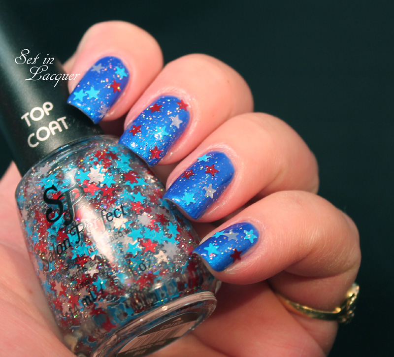 Salon Perfect Star Spangled over Blue Ribbon