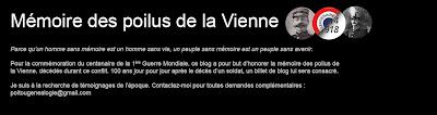 Mémoire des poilus de la Vienne