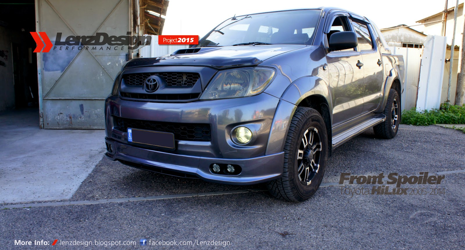 toyota hilux 2005 2014 body kit lenzdesign performance. Black Bedroom Furniture Sets. Home Design Ideas