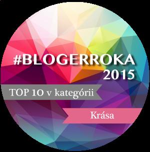 Ocenenie Bloger roka 2015