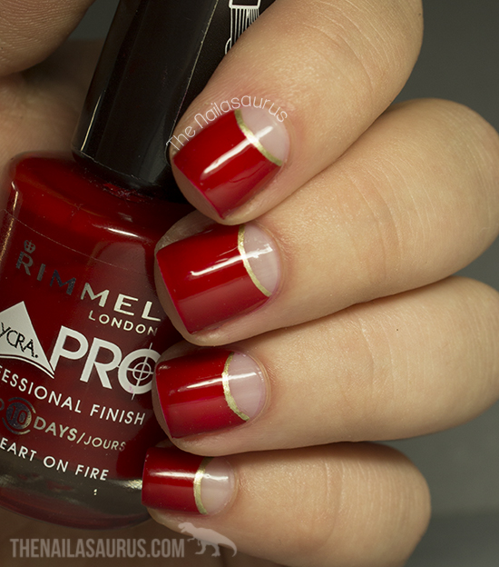 Red And Gold Nail Designs Tumblr Red And Gold Nails Tum...