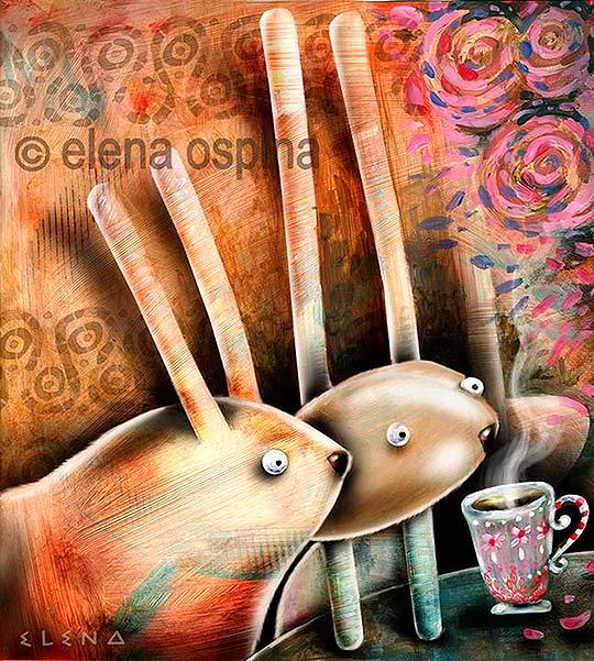 Ilustración de Elena Ospina