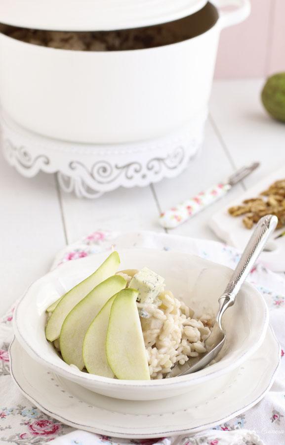 Receta Risotto pera y Gorgonzolla