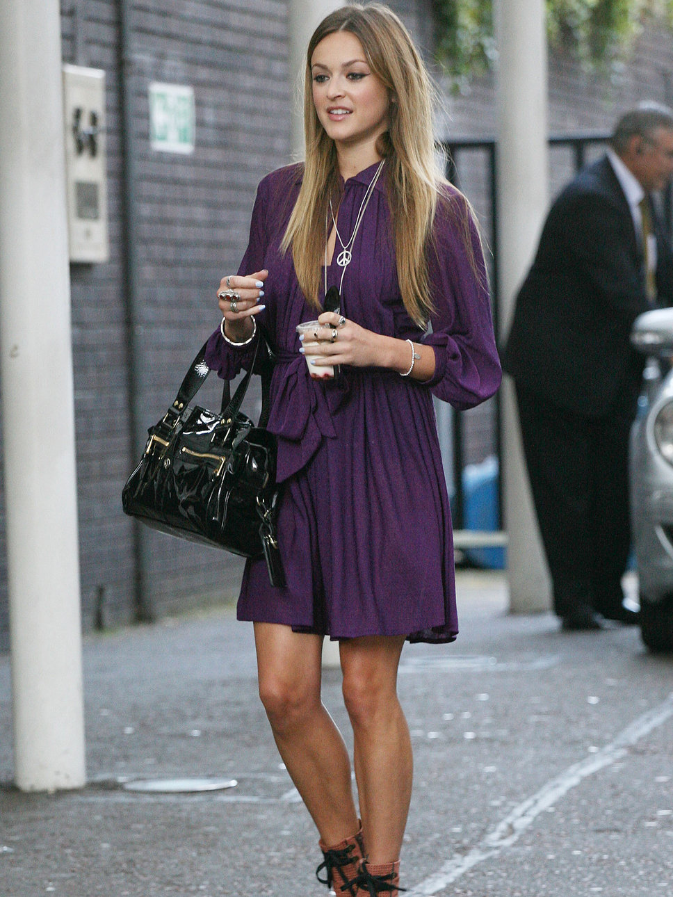 Chic and Silk  DRESS WITH DRESS  Μωβ Φόρεμα! Πως να το συνδυάσετε 4945cdfa79c