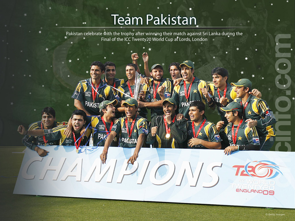 All sports wallpapers icc world cup t20 2012 pakistan cricket team wallpaper - Pakistan cricket wallpapers hd ...