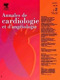 Annales de Cardiologie et d'angéiologie 2013 - Volume 62, Issue 4