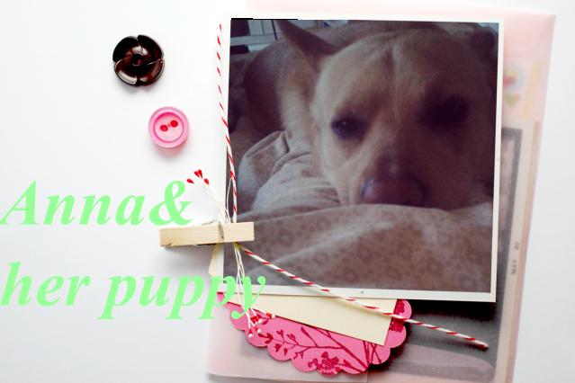 Anna & her puppy