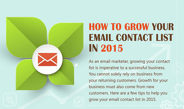 How to Grow Your Email Contact List in 2015