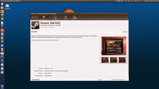 Steam - Mais de 1.000 jogos nativos para Linux Ubuntu
