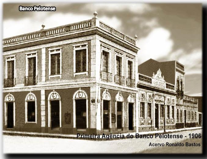 Primeira Agência do Banco Pelotense - 1906