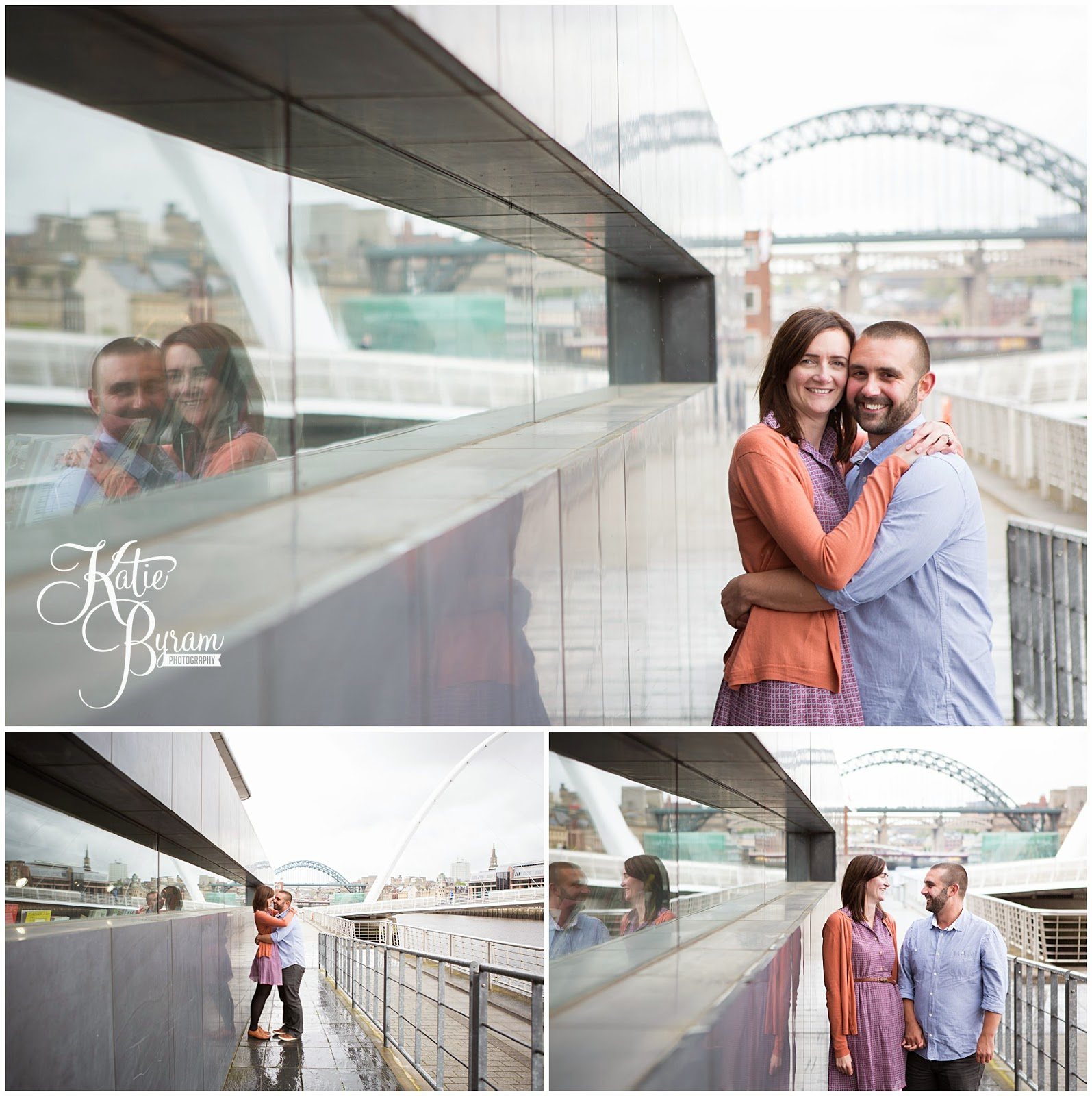 quayside pre-wedding shoot, quayside engagement, katie byram photographer, tyne bride, baltic wedding, pitcher and piano, the sage wedding