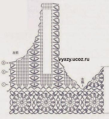 Free Crochet Charts for Timeless Vest