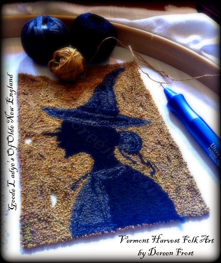 ~Vermont Harvest Folk Art by Doreen Frost~