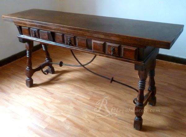 Retroalmacen tienda online de antig edades vintage y for Muebles antiguos sevilla