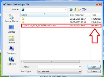 Cara Menggabungkan File Dengan HJSplit