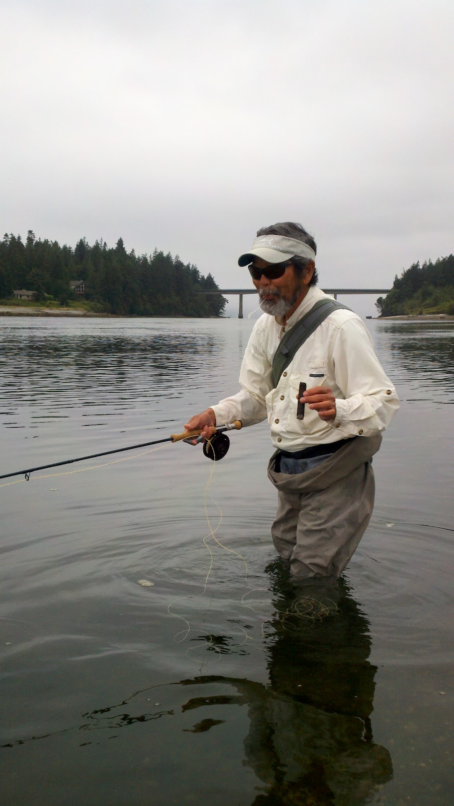 Washington fly fishing autumnal equinox for Leland fly fishing
