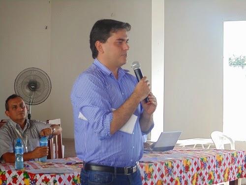 """Prefeito Dr. Tinoco recepciona adjunto de articulação política para tratar sobre implantação do """"Mais IDH"""""""