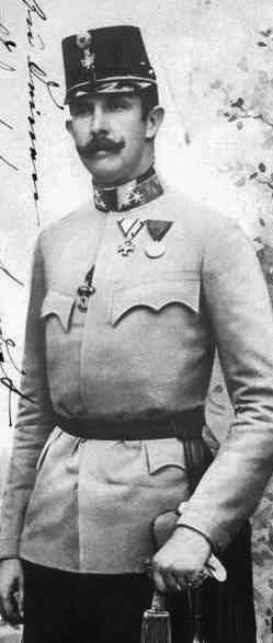 Archiduc Ferdinand Carl d'Autriche 1868-1915-Habsbourg