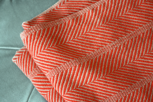 An Orange Throw For The Living Room How About Orange Mesmerizing Peach Colored Throw Blanket