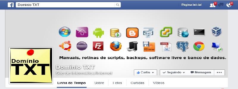 Facebook DominioTXT