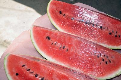 Rebanadas de sandía watermelon