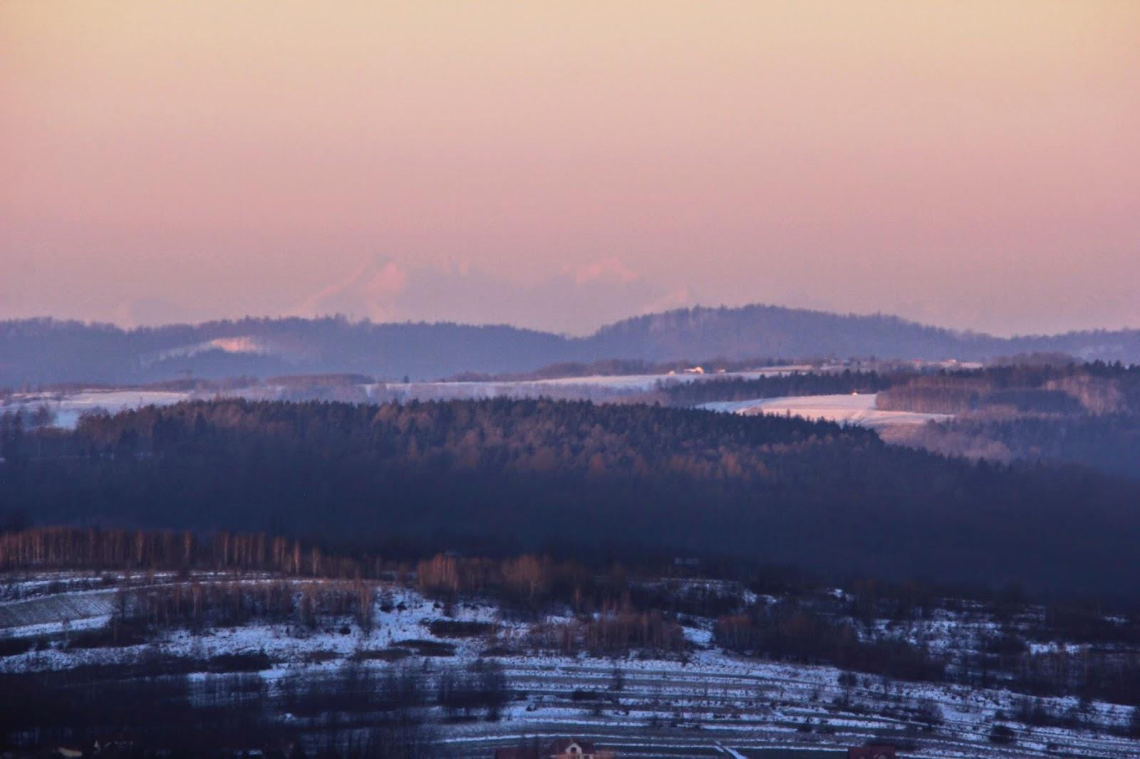 Tatry, Rzeszów, widok z Rzeszowa