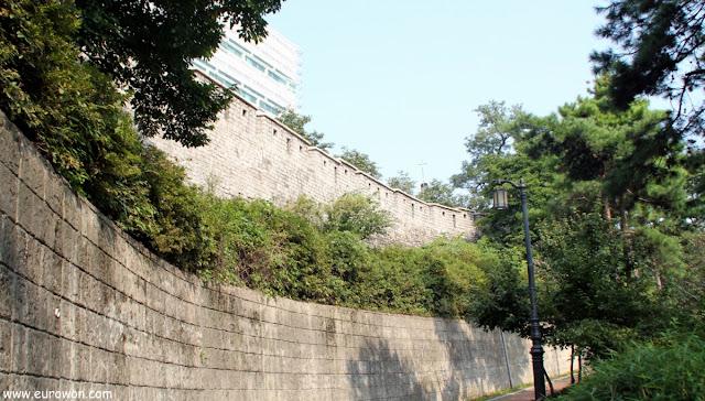 Muralla de Seúl en Ansan