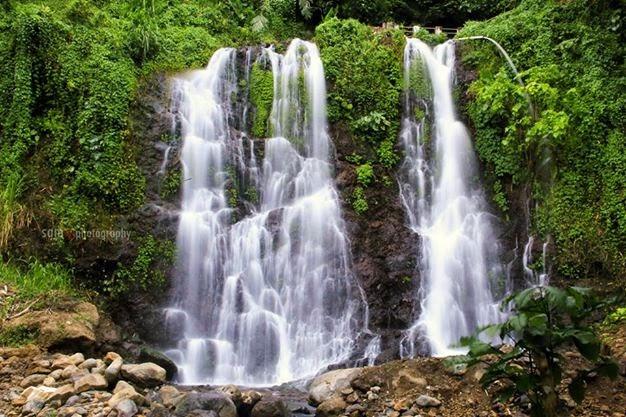 Air terjun Jagir di Kampung Anyar, Kecamatan Glagah, Banyuwangi.