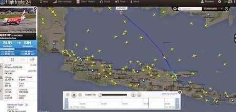 Tantangan Berat Basarnas dalam Pencarian Pesawat AirAsia QZ8501