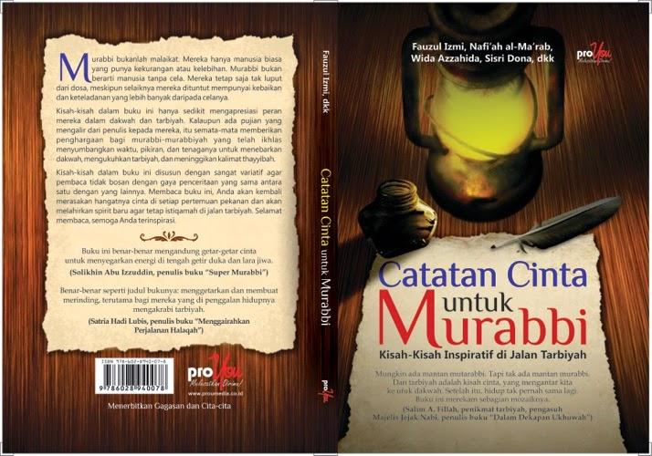 Catatan Cinta untuk Murabbi - foto © Recomendedbook.com