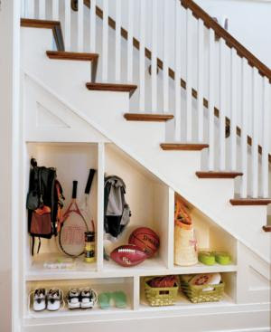 Under stairs storage and shelving ideas (Part 1)