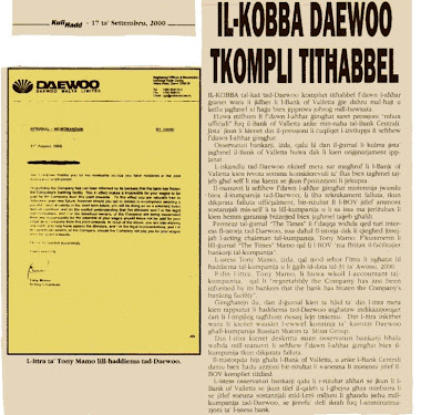 51 - John Dalli and the Daewoo Scandal