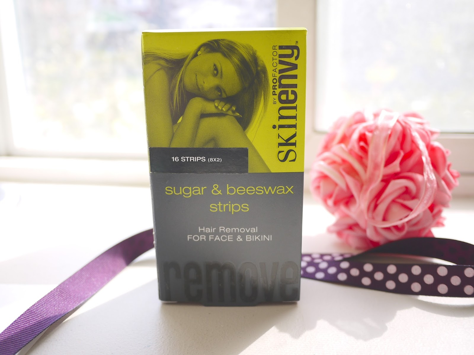 Skinenvy sugar and beeswax face and bikini wax strips review