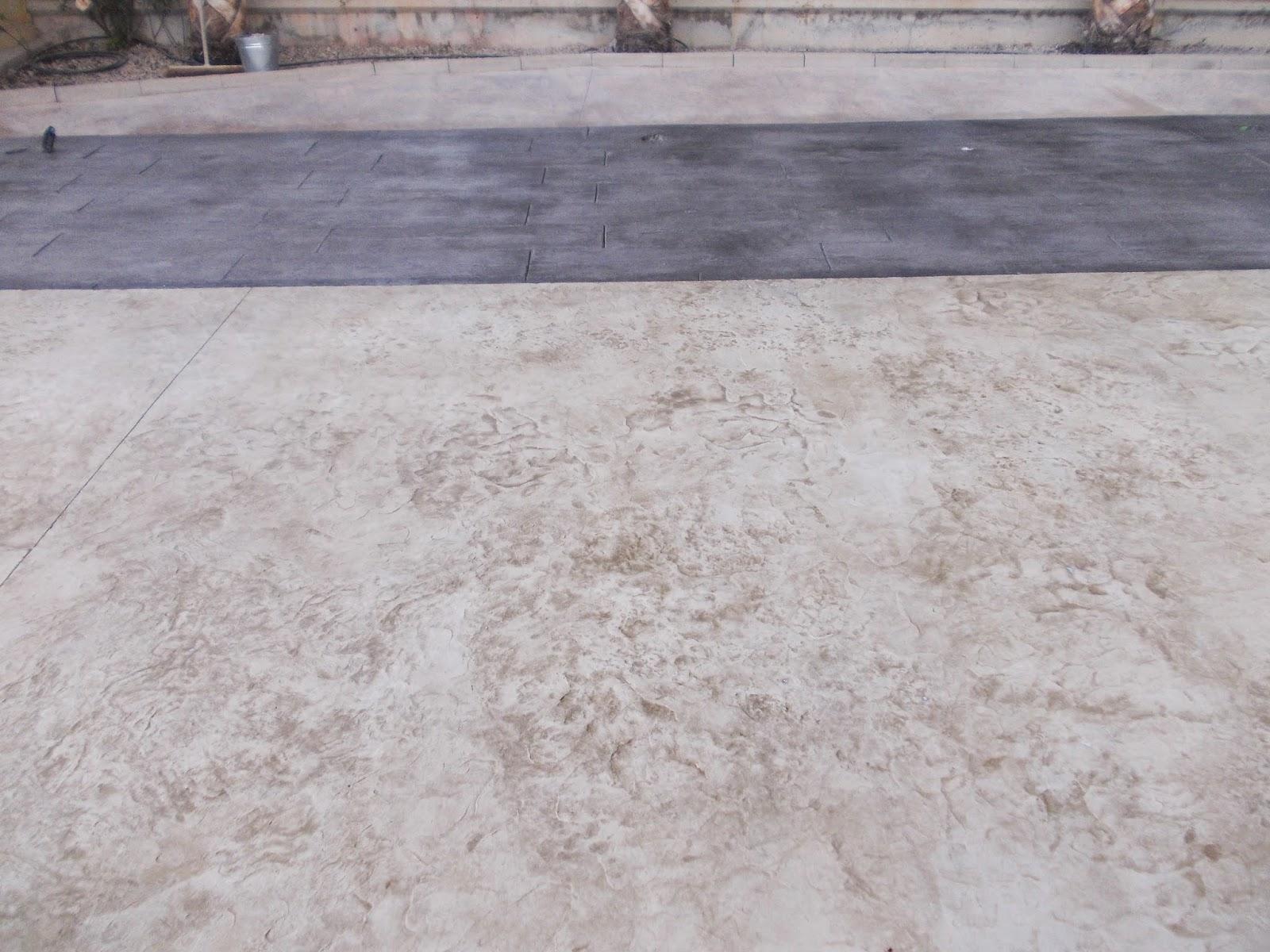 Piedra coronaci n de piscina con hormig n impreso for Se hacen piscinas hormigon