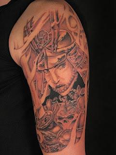 Imagens de Tatuagens de Samurai