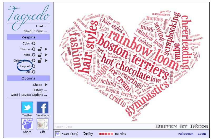 8 Simple Steps To Using Tagxedo To Create Personalized