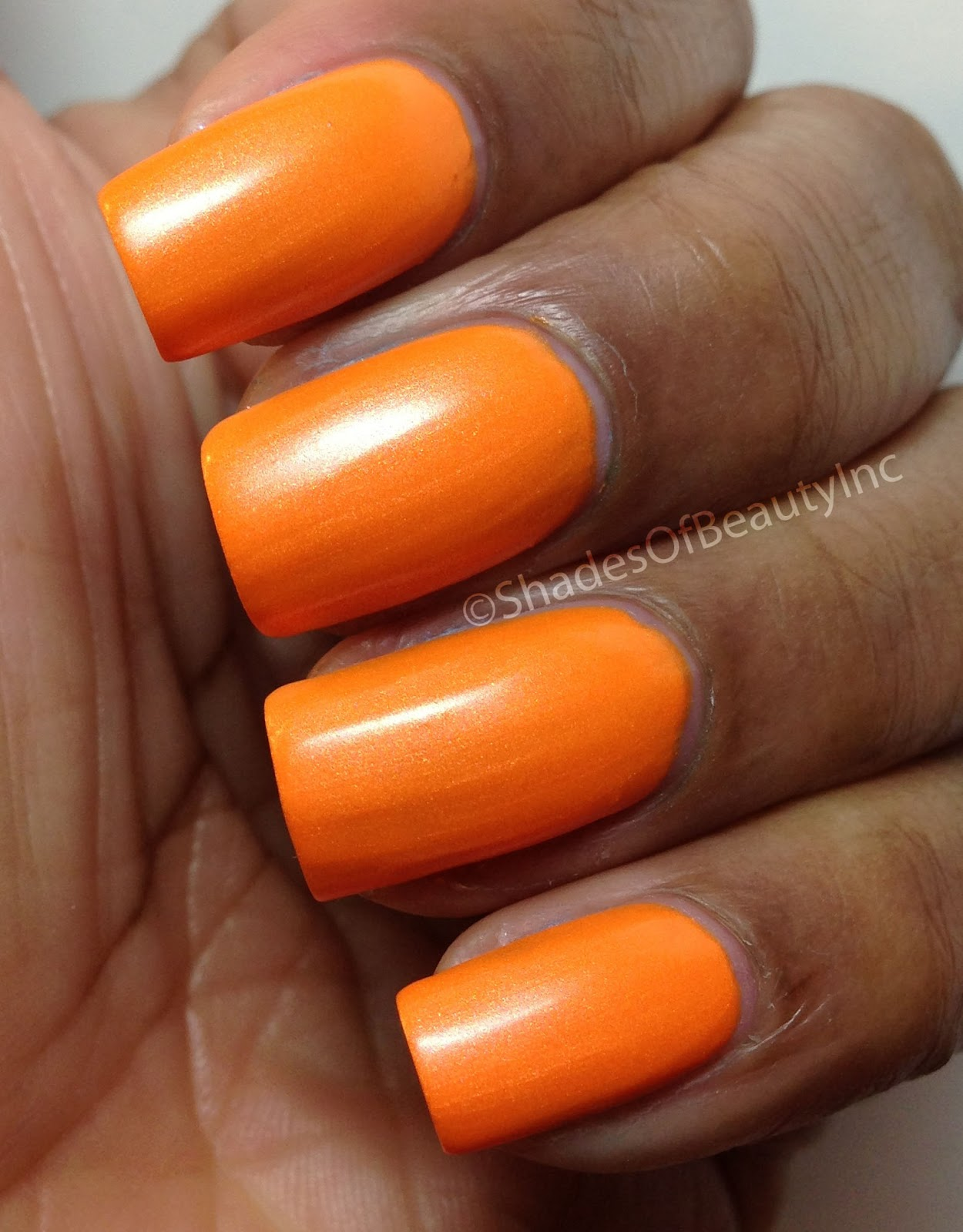 Shades of beauty inc here comes the sun salon perfect for Salon orange