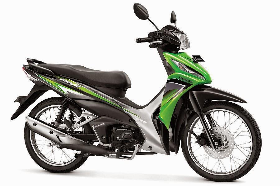 Warna Honda Revo SW PGM-FI hijau