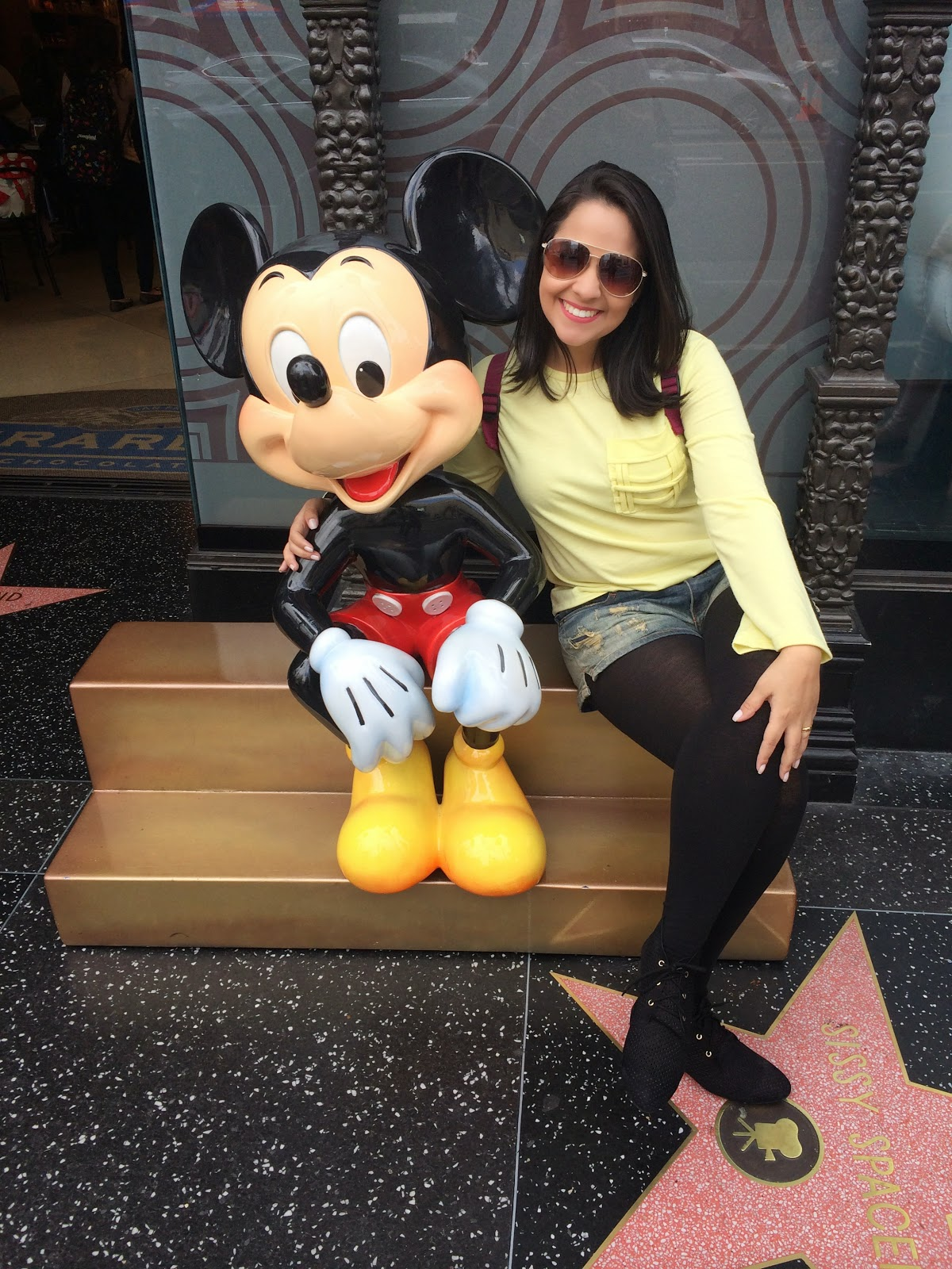mickey - calçada da fama - hollywood - los angeles - california