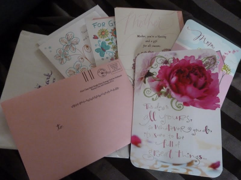 Free is my life review giveaway new hallmark postage paid i was sent a pack of 5 postage paid mothers day greeting cards for review as always with hallmark the quality of each card is superior m4hsunfo