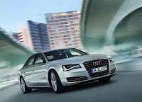 Audi A8 L front view  HD Wallpaper