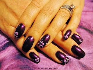 Slike noktiju - srca,love 007